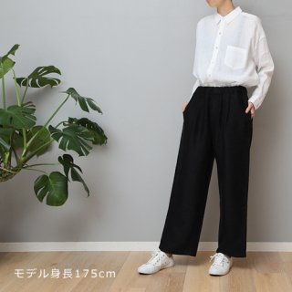 LINEN TALES heath trousers Wideパンツ