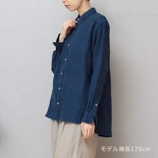 LINEN TALES larch shirt Wideシャツ