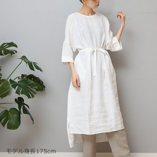 LINEN TALES thymu dress コクーンOP