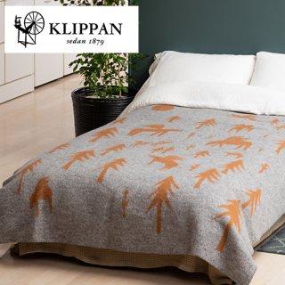 KLIPPAN クリッパン ウールブランケット シングル 130×180cm HOUSE IN THE FOREST / TRIP