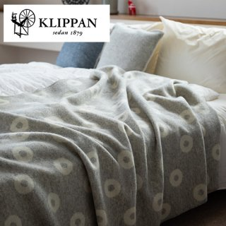 KLIPPAN クリッパン ウールブランケット シングル 130×180cm リングス / マーガレットローズ