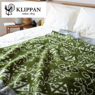 KLIPPAN クリッパン ウールブランケット シングル 130×180cm トラディション
