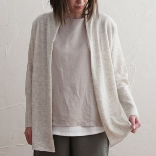 NATURAL BASIC 綿毛カシミヤニット ケープ