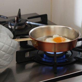 保堂 銅製 ロックポイント エッグパン16cm