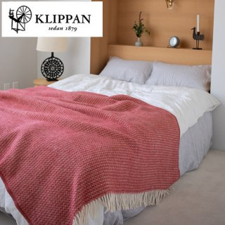 KLIPPAN ウールスロー シングル 130×200cm ダイヤモンド / ジャヴァ