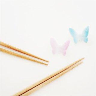 フロイド バタフライ 箸&箸置き 夫婦セット
