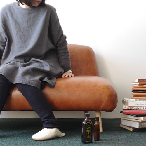 Dress a sofa Buns sofa Leather