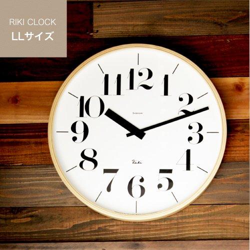 RIKI CLOCK 太字 LLサイズ WR-401L