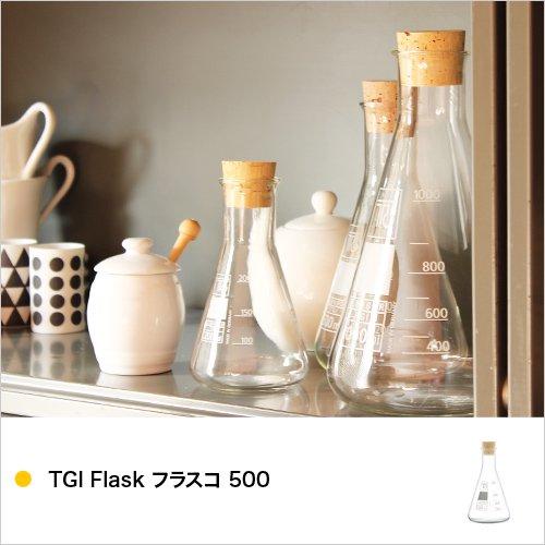 TGI Flask フラスコ 500