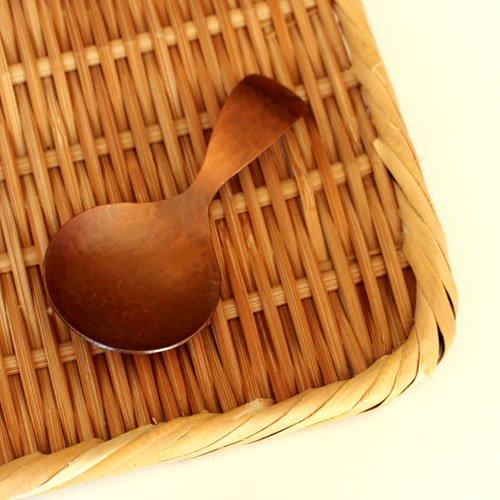 銅製 茶さじ スプーン型 野点