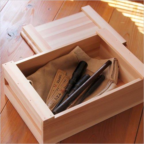 松野屋 大工の道具箱 小浅型