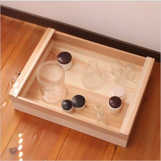 松野屋 大工の道具箱 中浅型
