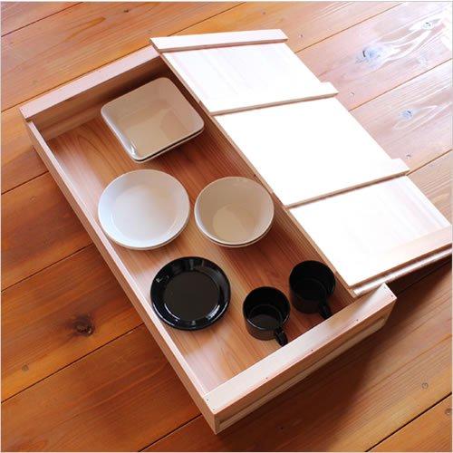 松野屋 大工の道具箱 大浅型