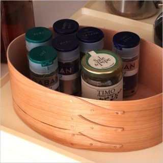 Oval Shaker Box チェリー BR001-2