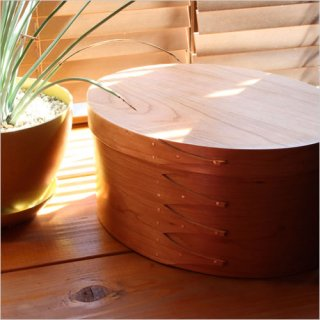 Oval Shaker Box チェリー BR001-5
