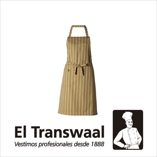 El Transwaal エプロン ストライプ ショート