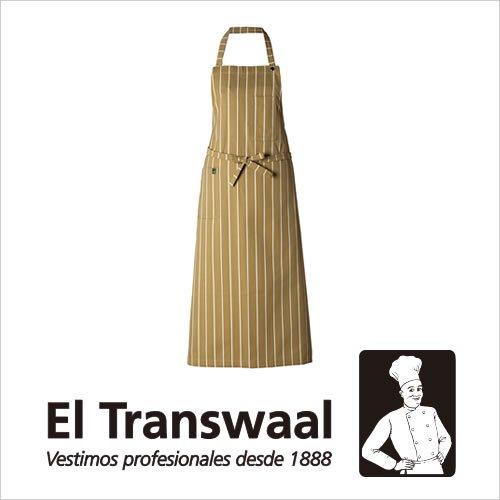 El Transwaal エプロン ストライプ ロング