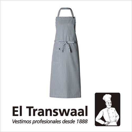 El Transwaal エプロン ヒッコリーストライプ ロング