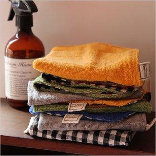 tarasukin bonkers<br>何度も洗ったパイル地布巾 2枚セット