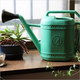 Watering can ウォータリングカン Green 4L