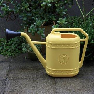 Watering can ウォータリングカン Yellow 6L