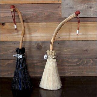 tarasukin bonkers<br>流木と汎用ロープのホウキ 小