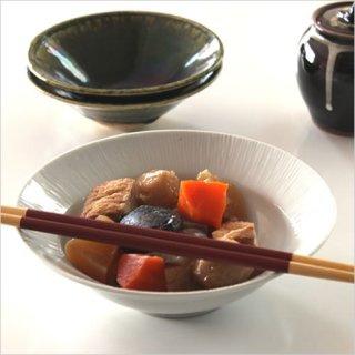 九谷焼 5.5寸浅鉢 細しのぎ や-22