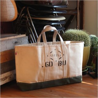 STEELE NATURAL CANVAS<br>TOTEBAG 0.60