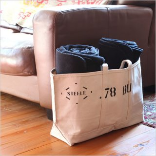 STEELE NATURAL CANVAS<br>TOTEBAG 0.78