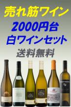 【送料無料】2000円台!コスパ抜群!売れ筋白ワイン6本セット!