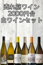 【送料無料】新・2000円台!コスパ抜群!売れ筋白ワイン6本セット