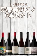 定番美味ピノ6本セット【送料無料】【南アフリカワイン】