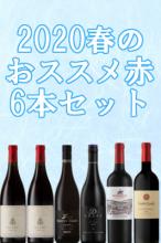 2020春のおすすめ赤6本セット【南アフリカワイン】