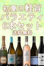 初夏の軽旨バラエティ6本セット 【送料無料】【南アフリカワイン】