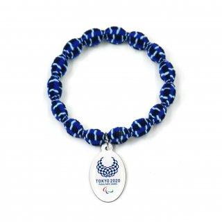ヘアタイ(ヘアゴム)東京2020パラリンピック 藍