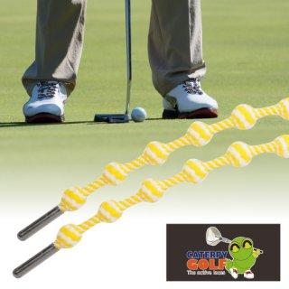 キャタピーゴルフ 60cm イエロースパイラル