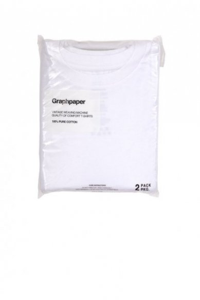 Graphpaper<br>Original 2-Pack Crew Neck Tee