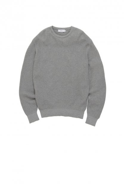 Graphpaper<br>Waffle Crew Neck Knit