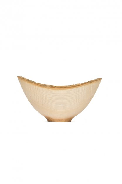 Jonathan Leech<br>Natural edge ash bowl