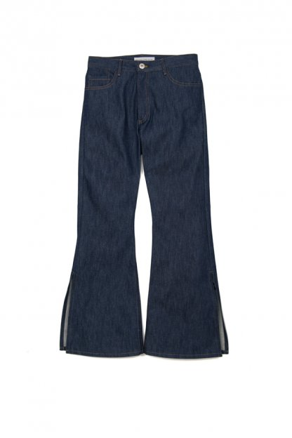 MATTHEW ADAMS DOLAN<br>Split Hem Flayed Jean