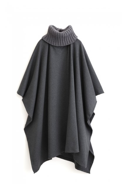 Graphpaper<br>Knitted Neck Poncho