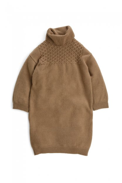 Graphpaper<br>Mongolian Baby Camel Turtle Neck OP