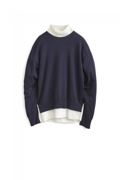 Graphpaper<br>Cotton Cashmere Turtle Neck