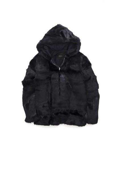 UNUSED<br>RABBIT FUR ANORAK PARKA