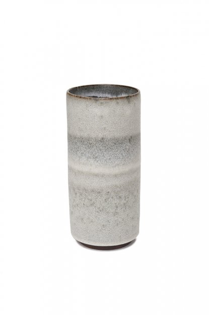 TORTUS COPENHAGEN<br>white and dark clay cylinder