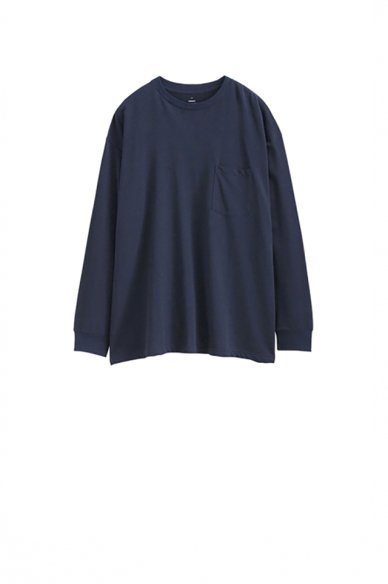Graphpaper<br>L/S Crew Neck Pocket Tee