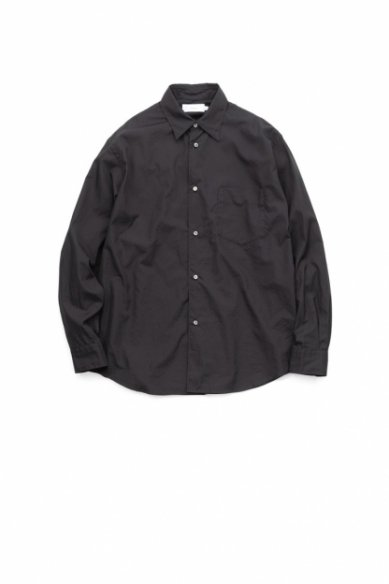 Graphpaper<br>Broad L/S Regular Collar Shirt