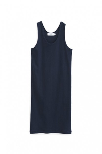 Graphpaper<br>Circular Rib Sleeveless Dress