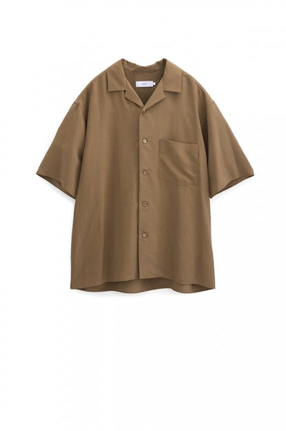 Graphpaper<br>Silk Open Necked Shirts