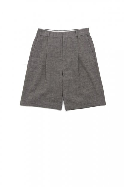 Graphpaper<br>Linen Aspero Cotton Herringbone Shorts
